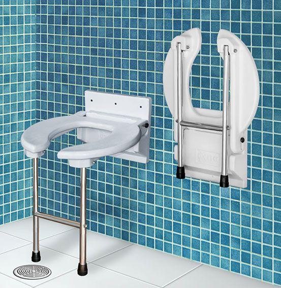 Assento retrátil para banho e higiene - SIT BOX VI