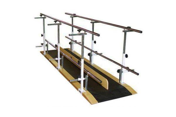 Barra paralela dupla em aço pintado 3 metros - 1060