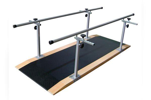 Barra paralela simples em aço pintado 2 metros - 1075