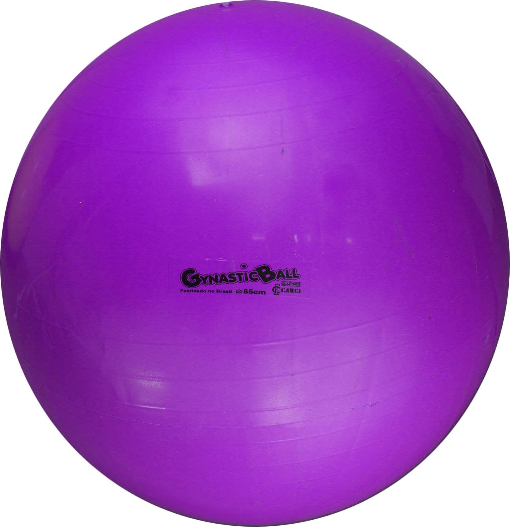 Bola suíça para pilates 95cm Gynastic Ball - roxa - BL.01.95
