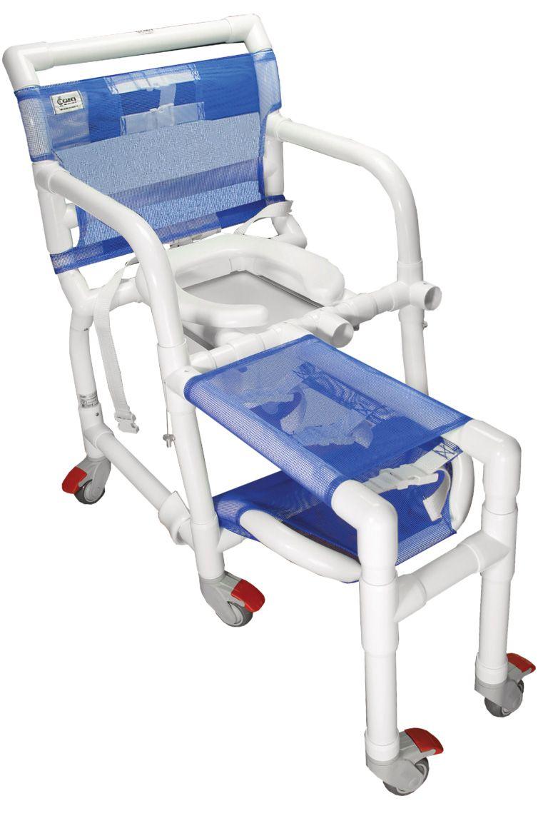 Cadeira de banho ortopédica em PVC - 340CL