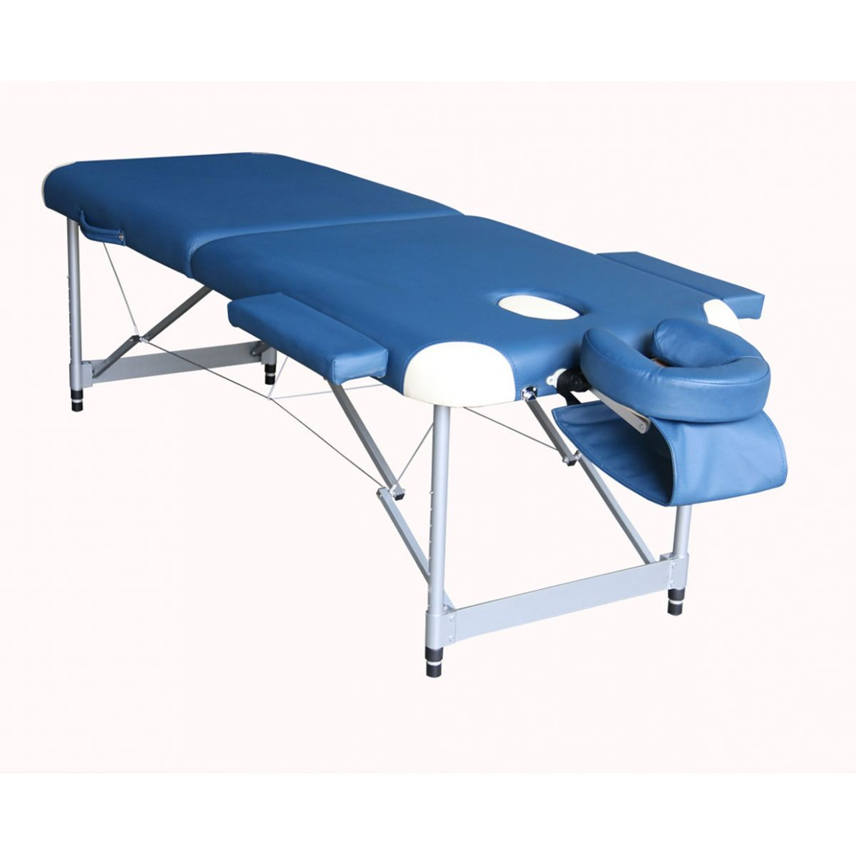 Carcimed Massagem - Mesa p/Massagem de Alumínio - Dobrável