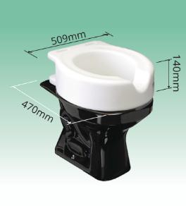 Elevador de vaso sanitário sem alças - SIT IV