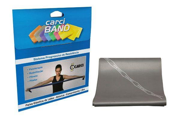 Carci Band (nº6) - Faixa elástica para exercícios (prata / super forte) - RB.01.499
