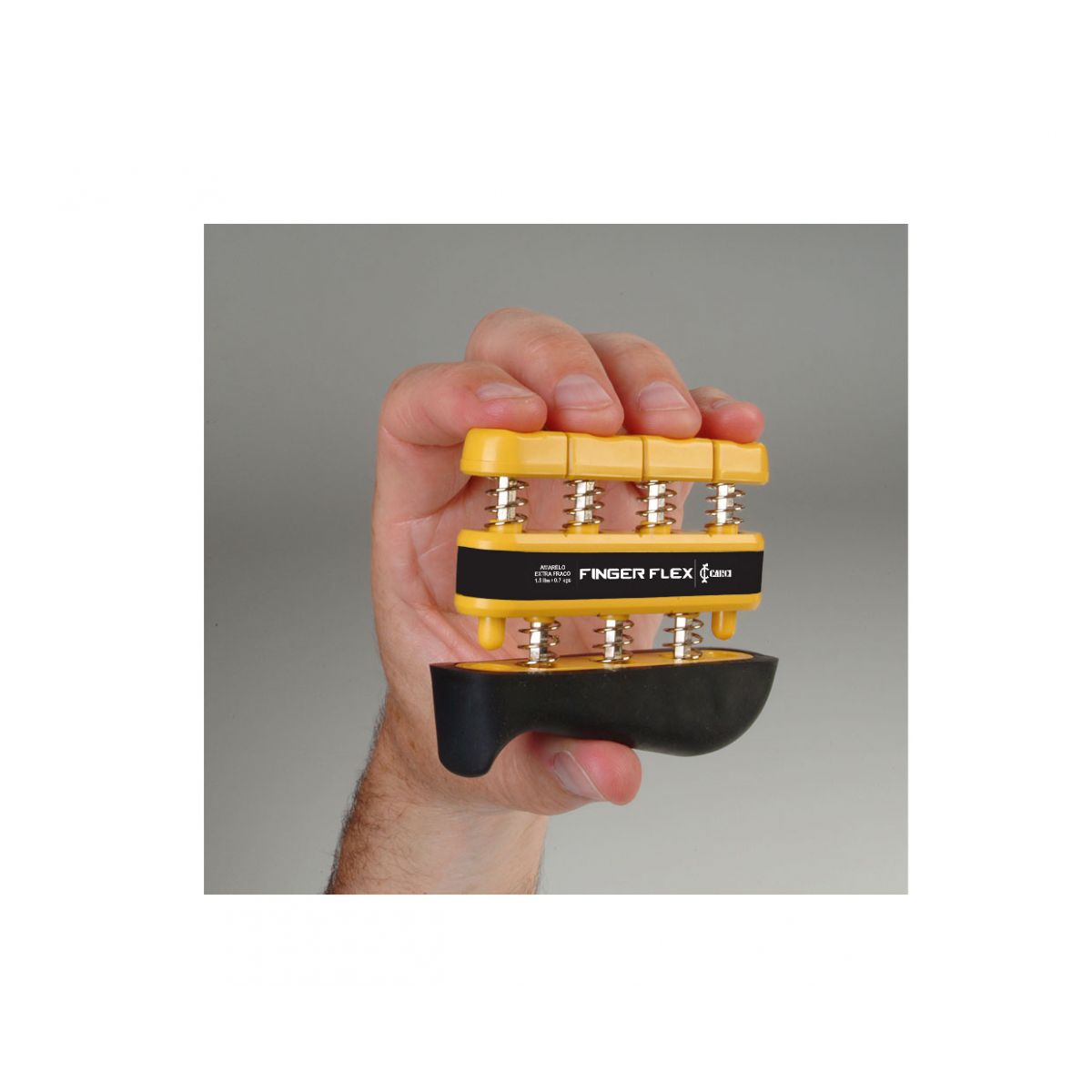 Finger Flex Amarelo: 1.5 lbs - 0,7 kg