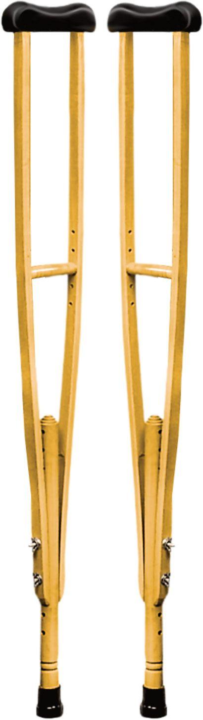 Muleta axilar em madeira média - 071