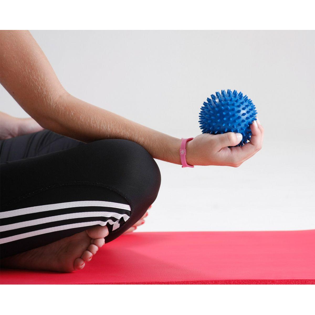 Bola para massagem Point Ball 10cm - macia com cravos  - PBM.10