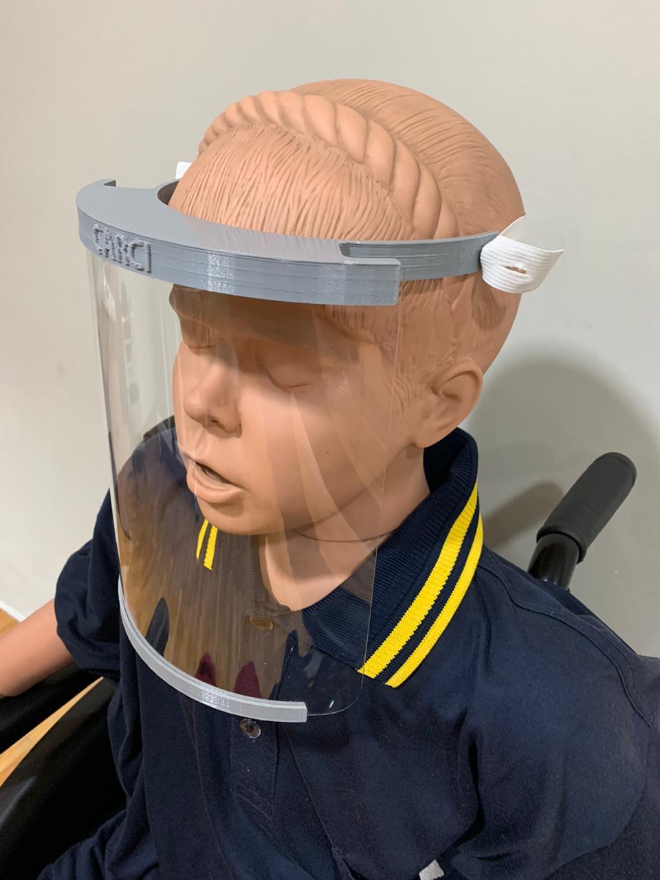 Protetor Facial em PTEG