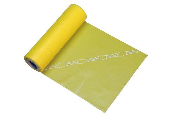 Carci Band - Rolo 5,5 m de faixa elástica amarela fraca - RB.01.452
