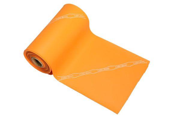 Carci Band - Rolo 5,5 m de faixa elástica - nº7 (laranja / extra forte) - RB.01.LA.55