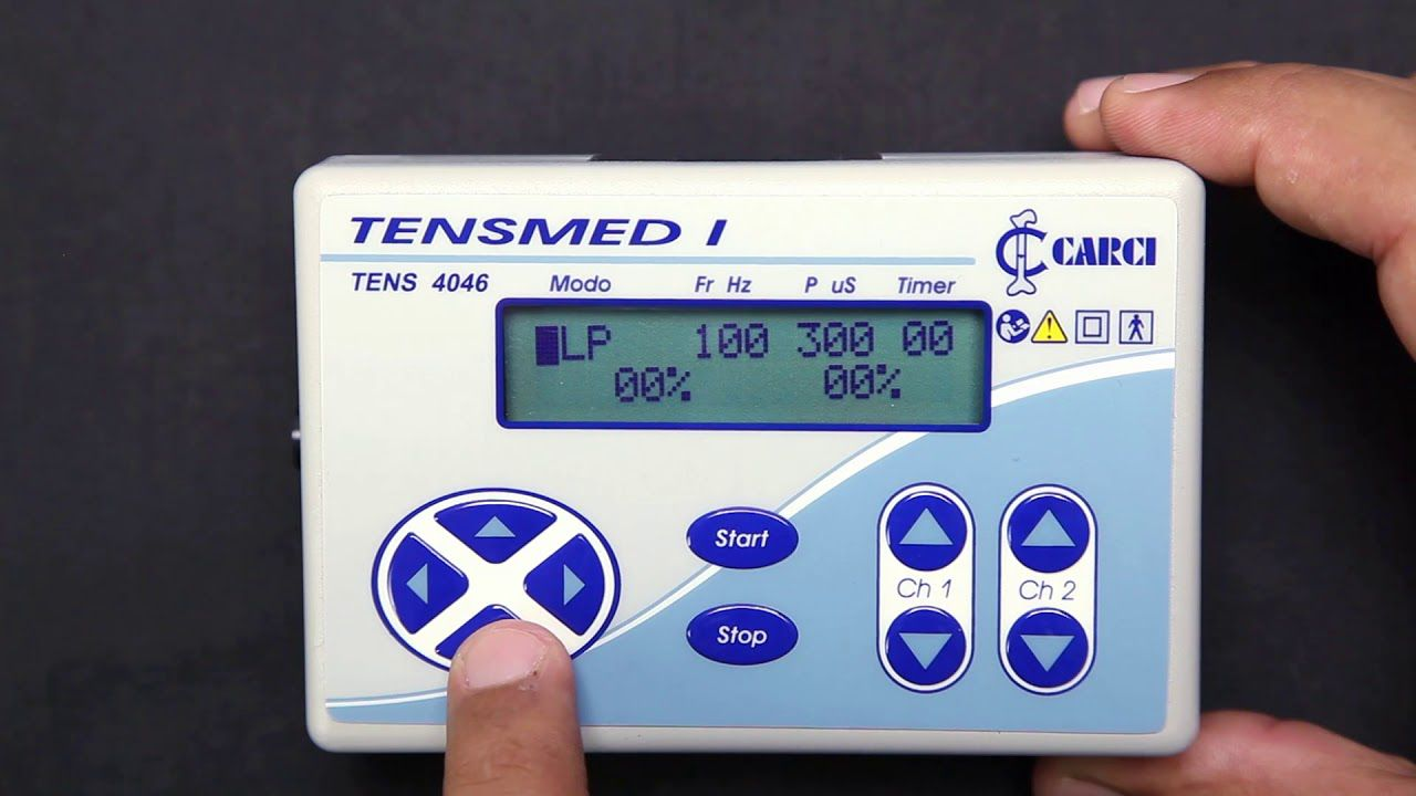 Tens digital 02 canais TENSMED JR - 4046ES