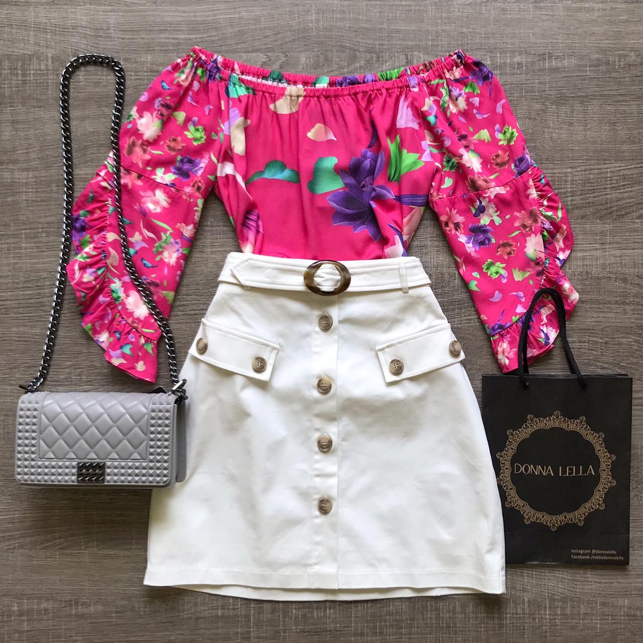 Blusa Floral Pink