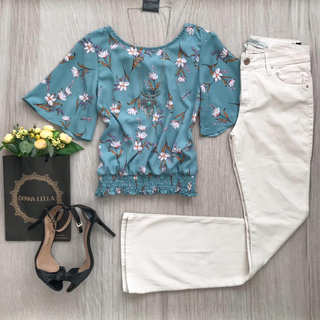 Blusa Floral Roma