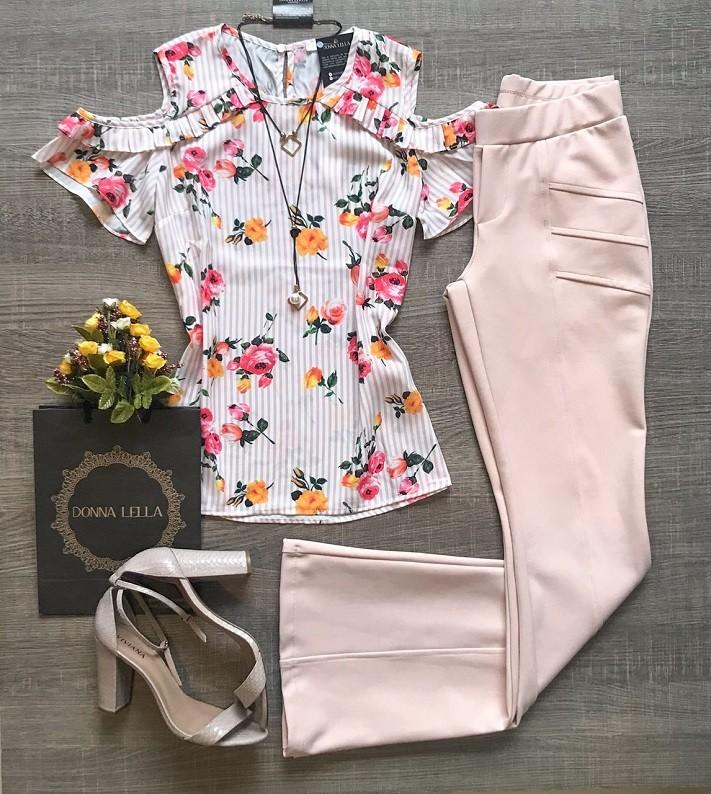 Blusa Mix Listra Floral