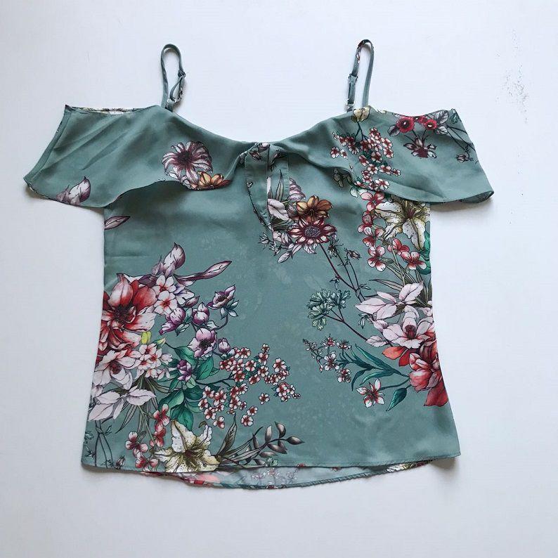 Blusa Offshoulder Floral