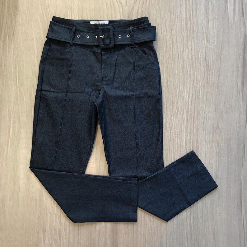 Calça Jeans Com Cinto