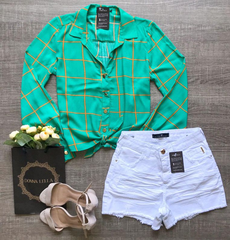 Camisa Nózinho Verde