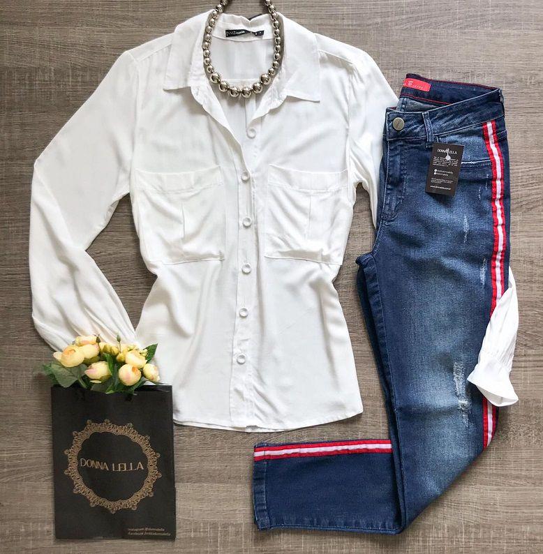 Camisa Offwhite