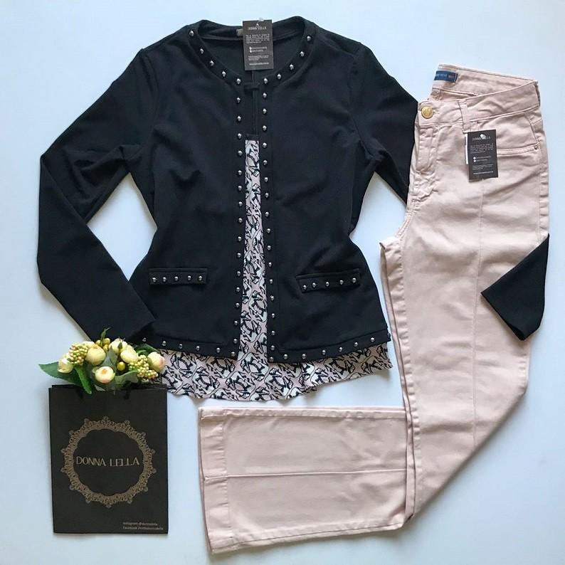 Casaqueto Chanel Preto