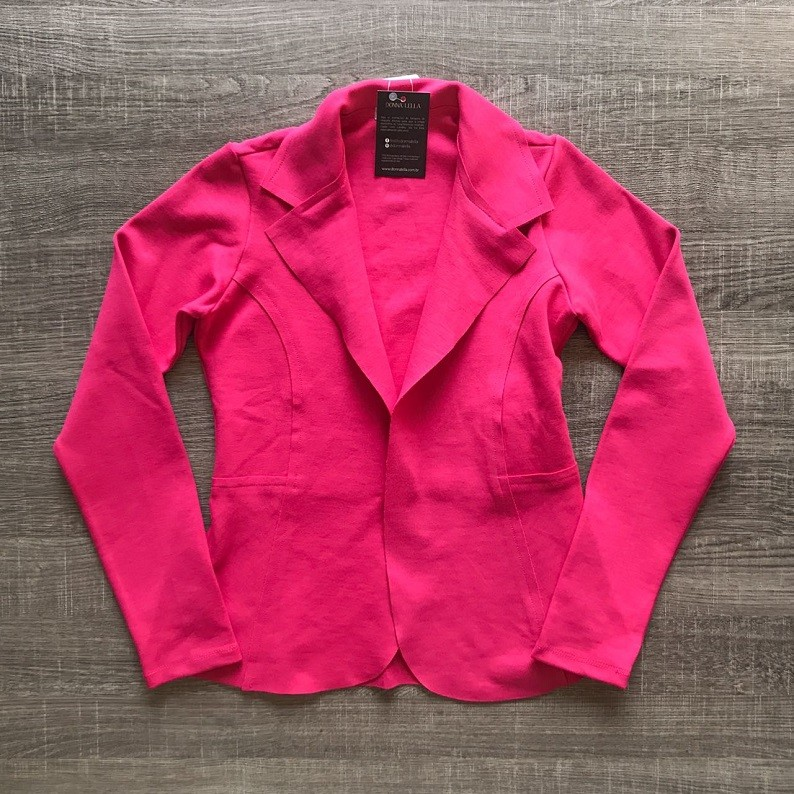 Casaqueto Corte a Fio Pink