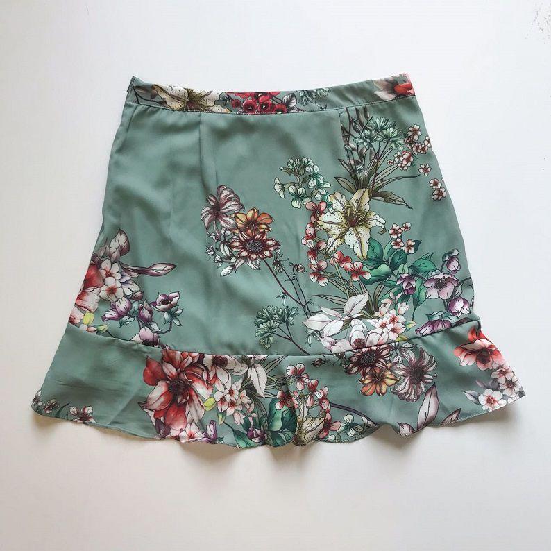 Saia Crepe Floral