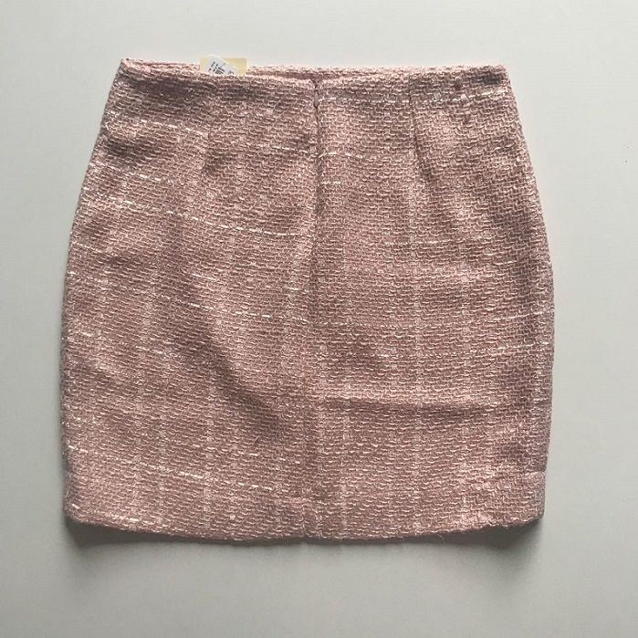 Saia Tweed Rosa