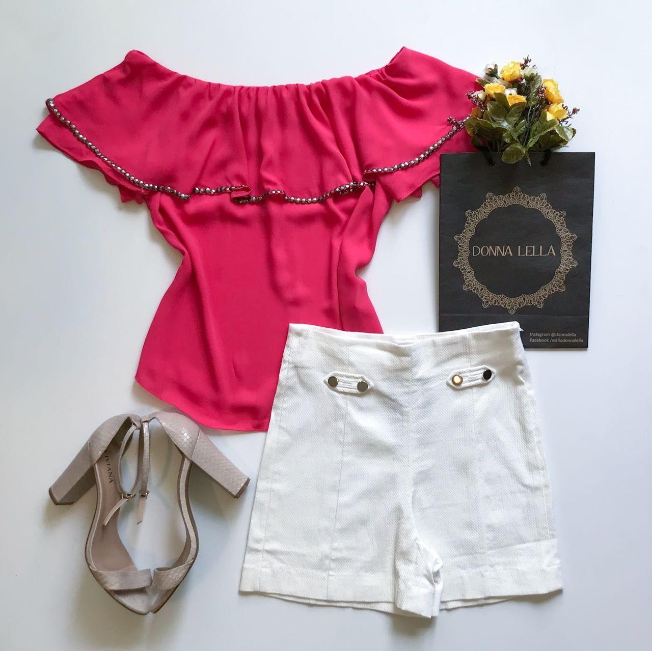Shorts Bengaline Offwhite