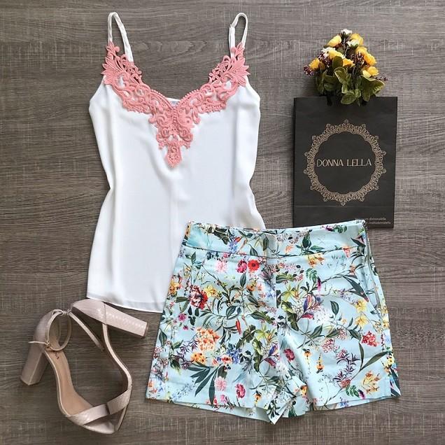 Shorts Cartagena Floral