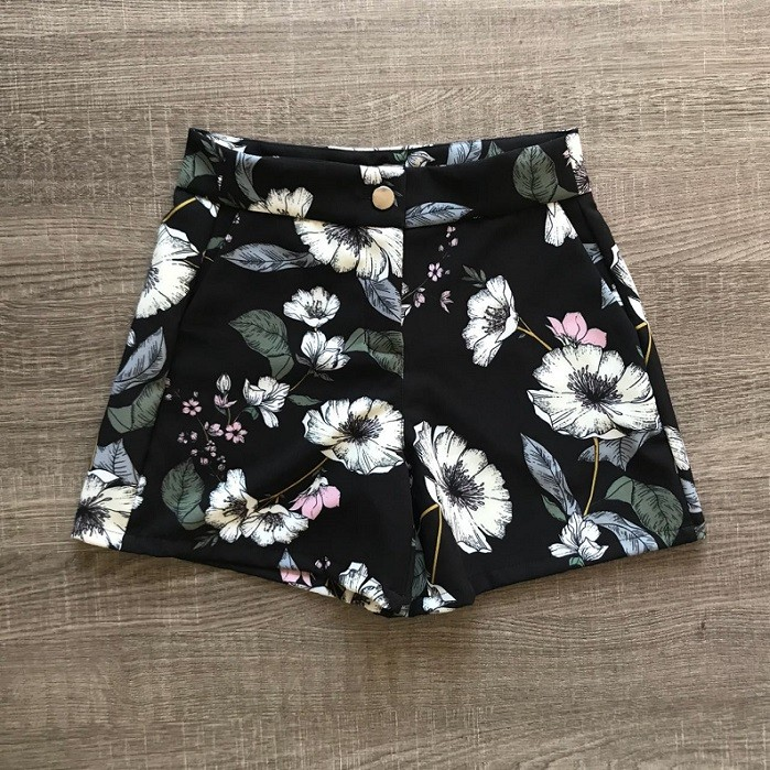 Shorts Floral Bianca