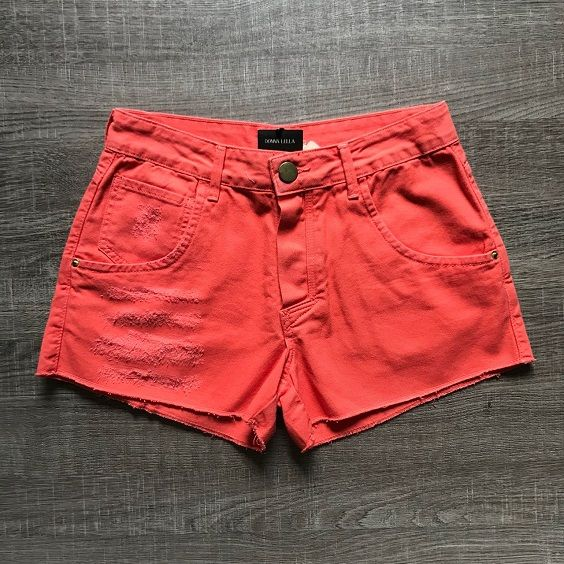 Shorts Jeans Coral