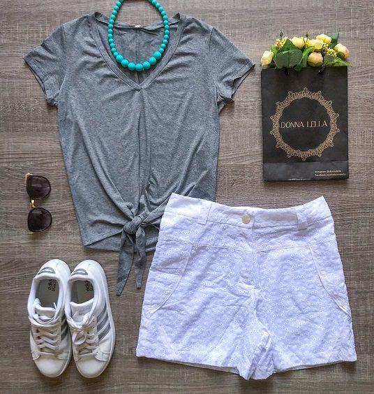 Shorts Laise Branco