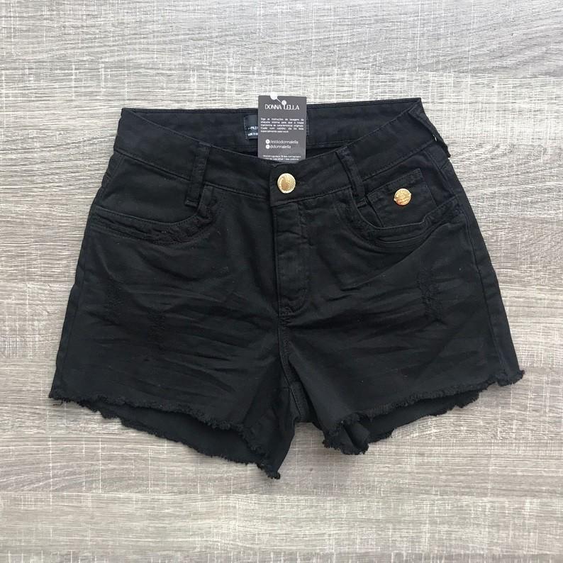Shorts Sarja Preto