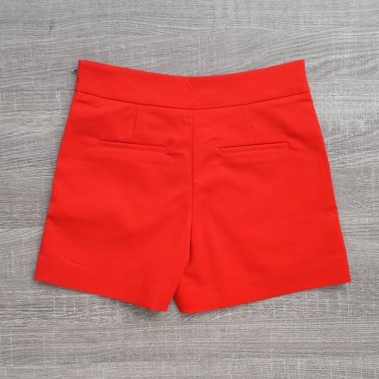 Shorts Sarja Vermelho