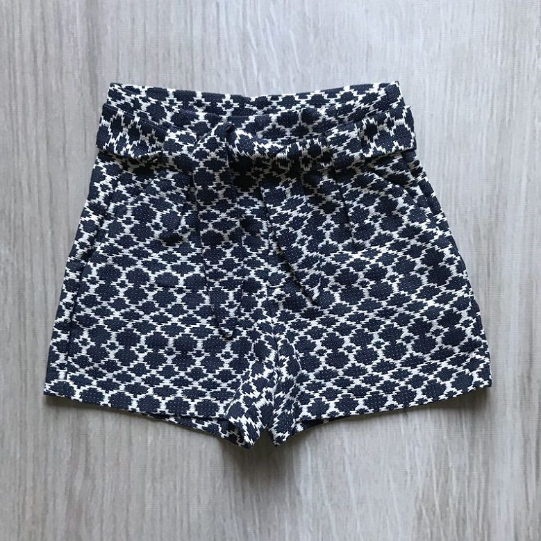 Shorts Tweed Jacquard