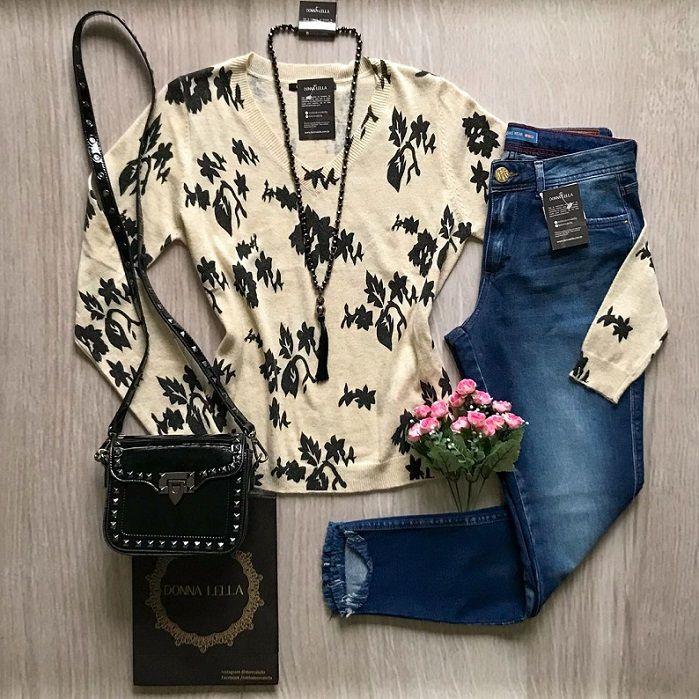 Tricot Floral