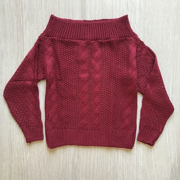 Tricot Ombro a Ombro
