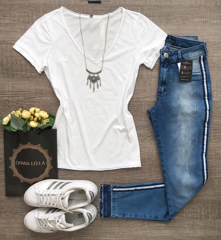 Tshirt Algodão Branca