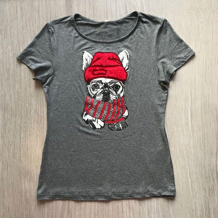 Tshirt Dog Relevo