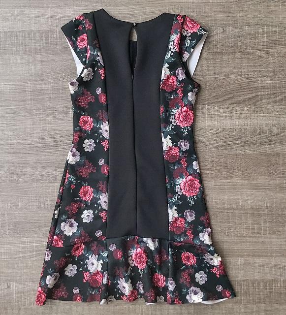 Vestido Lateral Floral