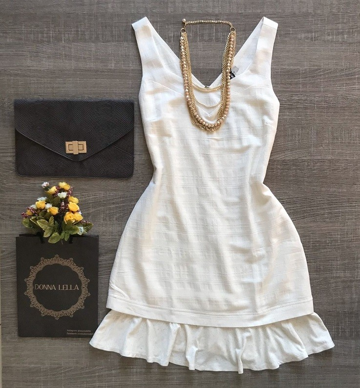 Vestido Linho Mykonos