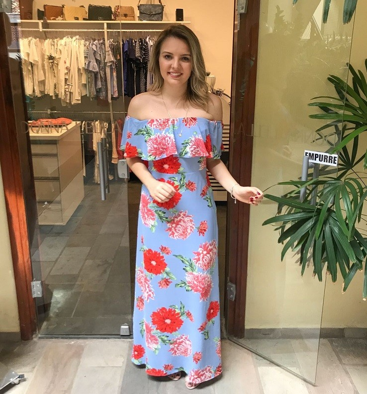Imagens de vestidos longos verao 2018