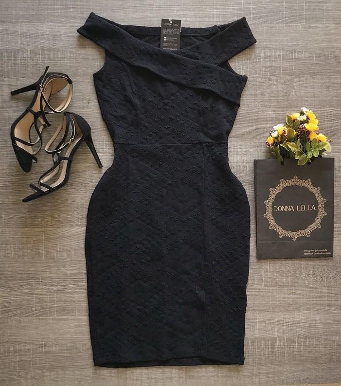 Vestido Milão Midi Preto