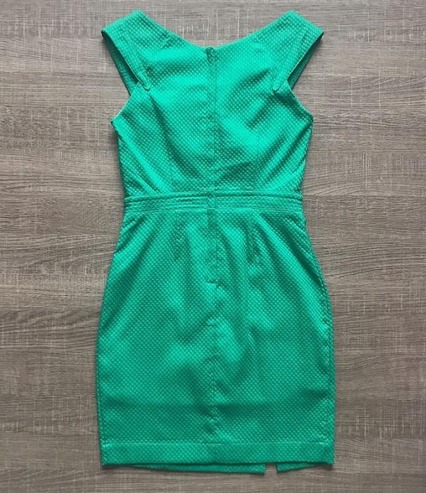 Vestido Piquet Verde