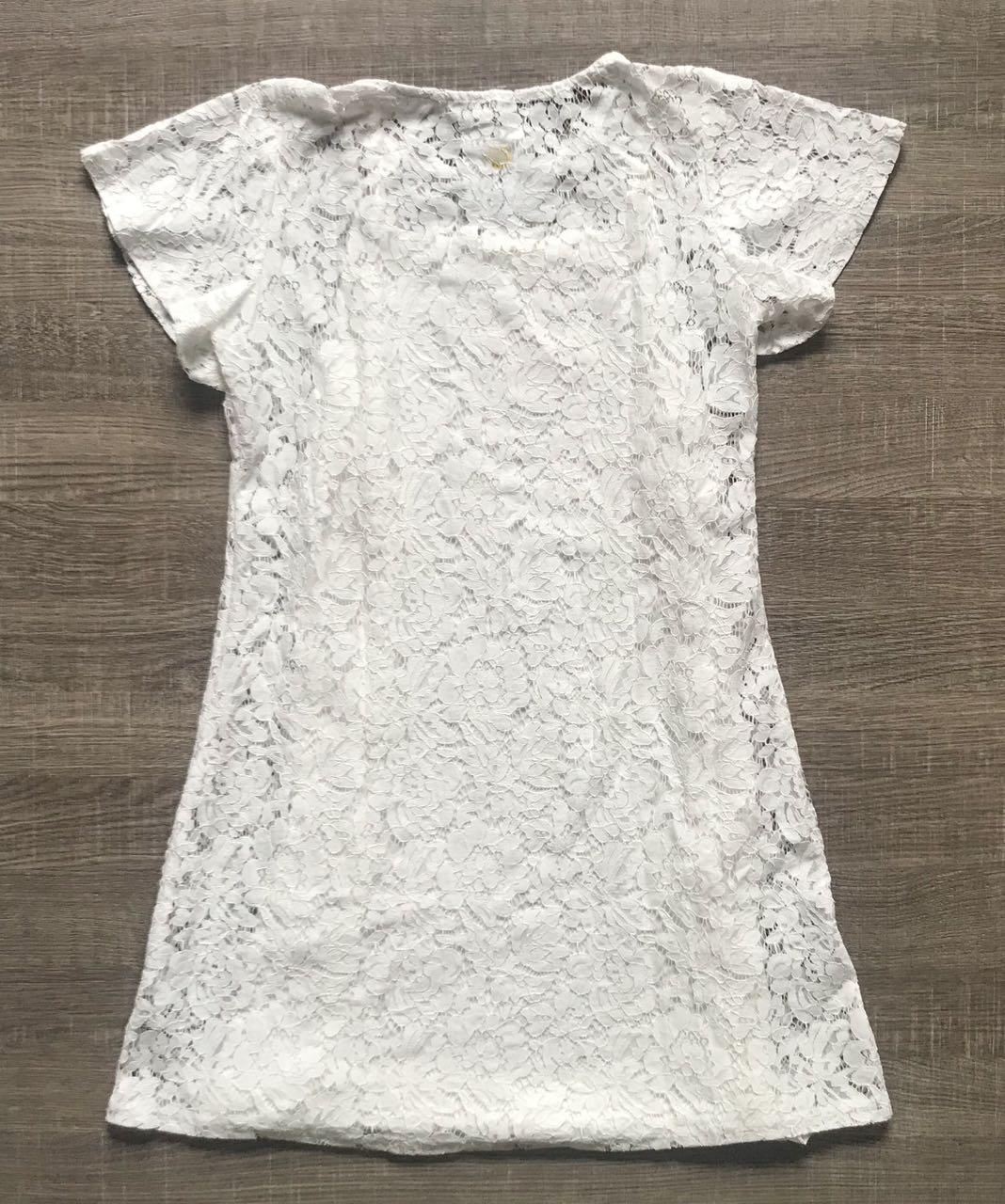Vestido Renda Bordado