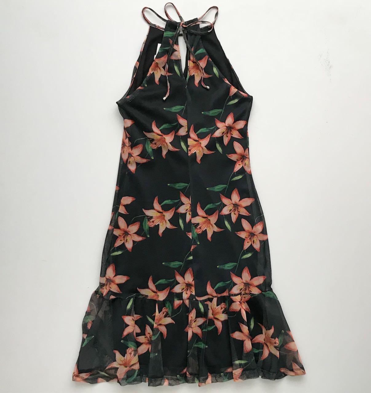 Vestido Tela Floral