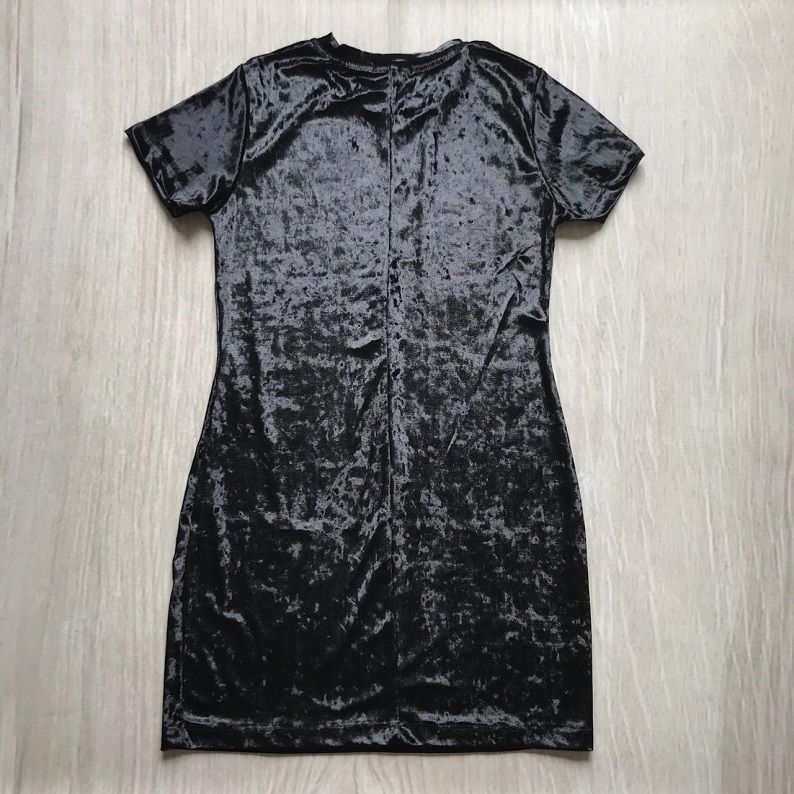 Vestido Veludo Preto
