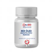 MIX OLEO DE ABACATE + COCO + MAMONA PURÍSSIMOS 100% - 100ml