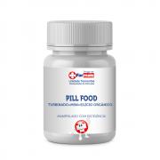 PILL FOOD TURBINADO + MSM + SILÍCIO ORGANICO (CABELOS, UNHAS, PELE) - 60 CAPSULAS