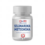 SILIMARINA 200mg + METIONINA 150mg - 60 Capsulas