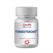 TURKESTERONE 510mg® Autêntica Ajuga Turkestanica 120 Caps